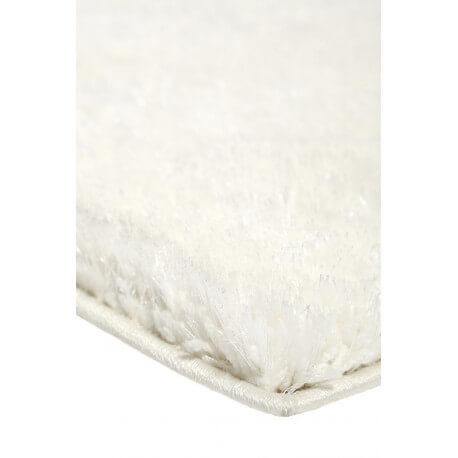 Tapis blanc uni à longues mèches Spa Esprit Home