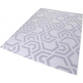 Tapis moderne gris géométrique Casino Esprit Home
