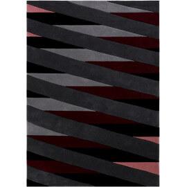 Tapis géométrique multicolore moderne Lamella Esprit Home