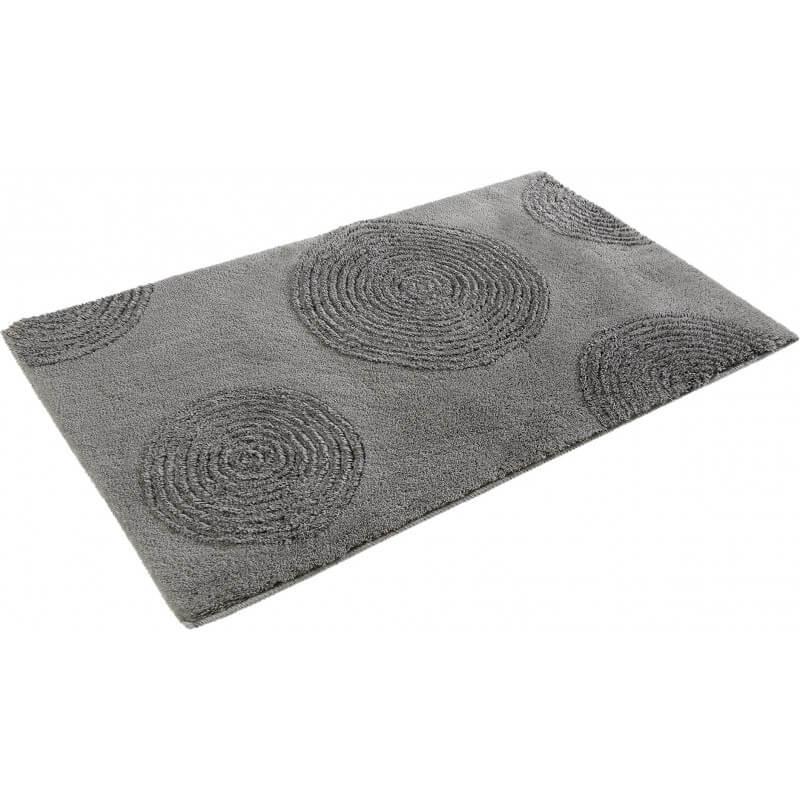 tapis pour salle de bain argent en acrylique yoga. Black Bedroom Furniture Sets. Home Design Ideas