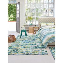 Tapis multicolore d'Inde en laine et coton Reflection Esprit Home