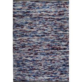 Tapis violet d'Inde en laine et coton Reflection Esprit Home