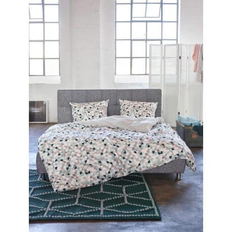 tapis tiss main vert fonc naturel fiesta esprit home. Black Bedroom Furniture Sets. Home Design Ideas