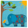 Tapis enfant elephant par Arte Espina