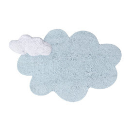 Tapis nuage bleu enfant Lorena Canals Puffy Dream