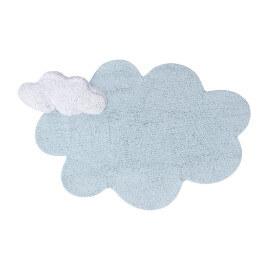 Tapis nuage bleu enfant Lorena Canals Puffy Dream