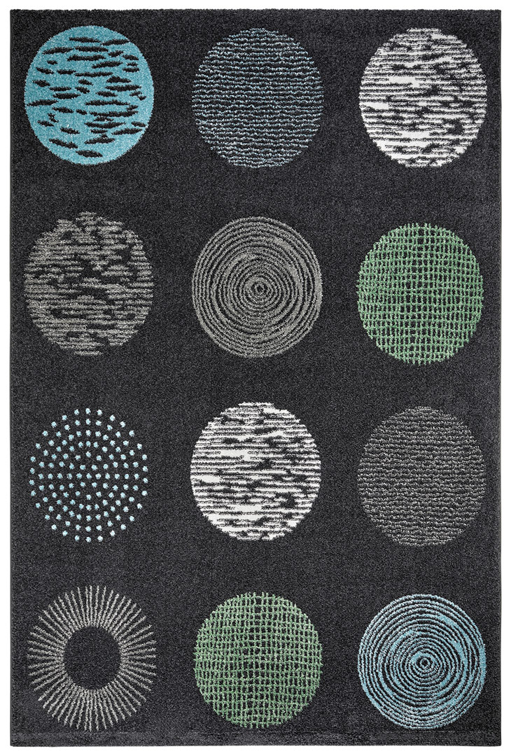Tapis design pour salon Dario