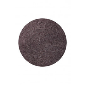 Tapis plat rectangulaire marron Colour In Motion par Esprit Home