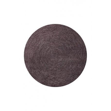 Tapis plat rectangulaire prune Colour In Motion par Esprit Home