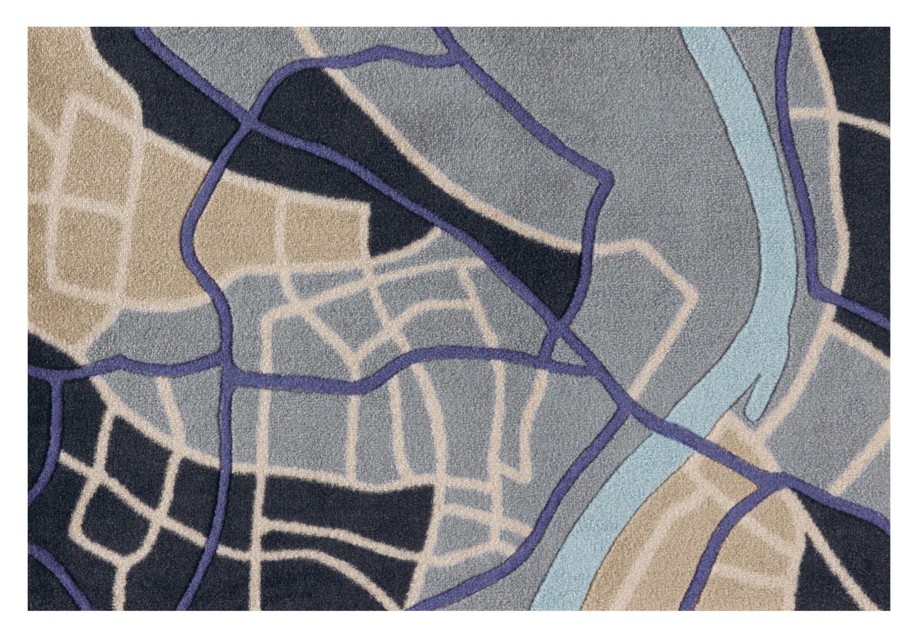 Paillasson City Life par Arte Espina
