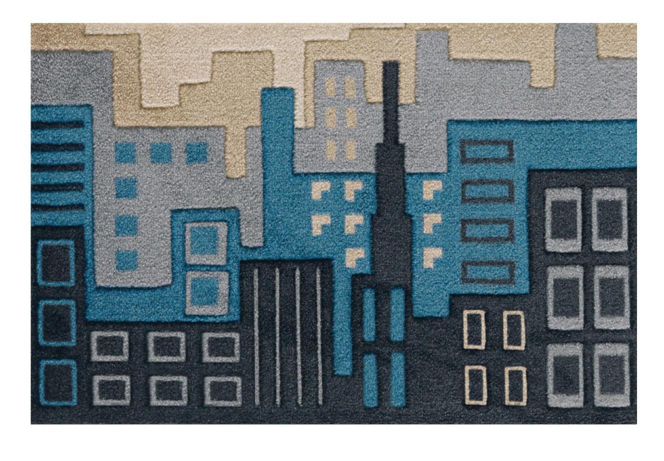 Tapis d'entrée City Life par Arte Espina