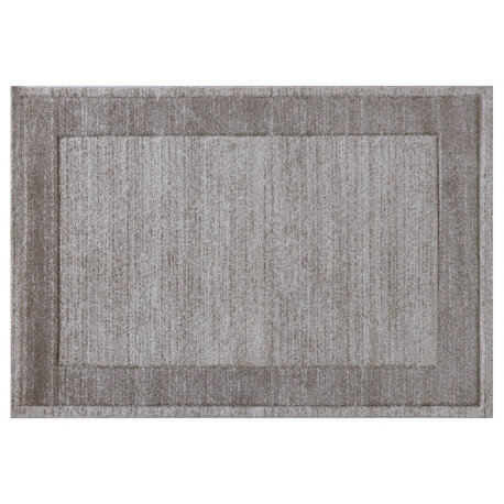 Tapis rectangle pour salon beige Thala