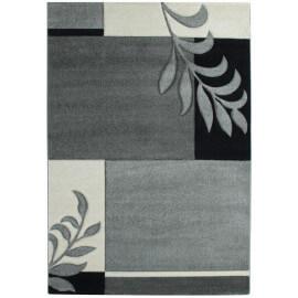 Tapis fleuris gris contemporain de salon Mira