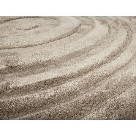 Tapis rond Mellow Mood Taupe par Arte Espina