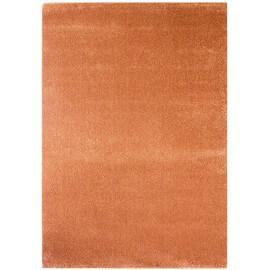 tapis courtes mches uni cuivre blocalia - Tapis Orange
