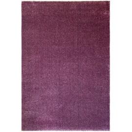 Tapis à courtes mèches uni violet Blocalia