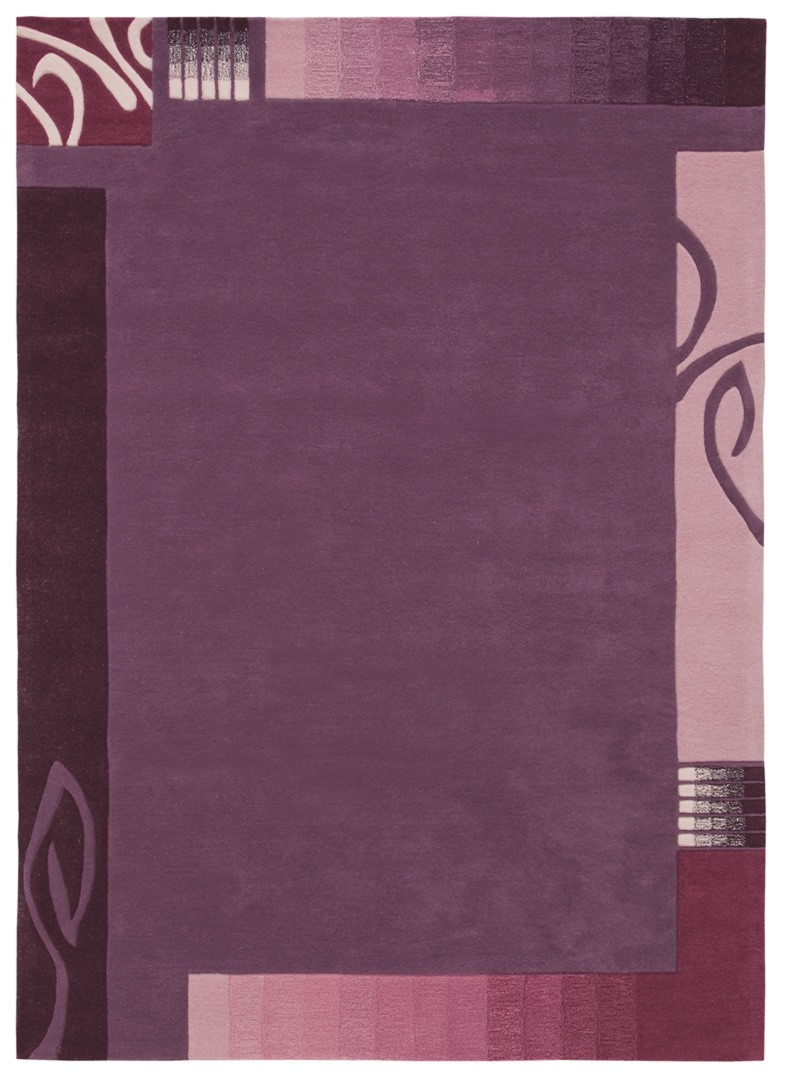 tapis contemporain easy going i violet par arte espina - Tapis Moderne Violet