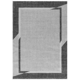 Tapis contemporain gris géométrique Janet