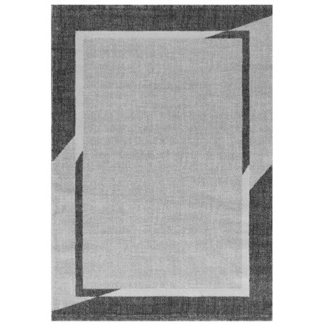tapis contemporain gris g om trique janet. Black Bedroom Furniture Sets. Home Design Ideas