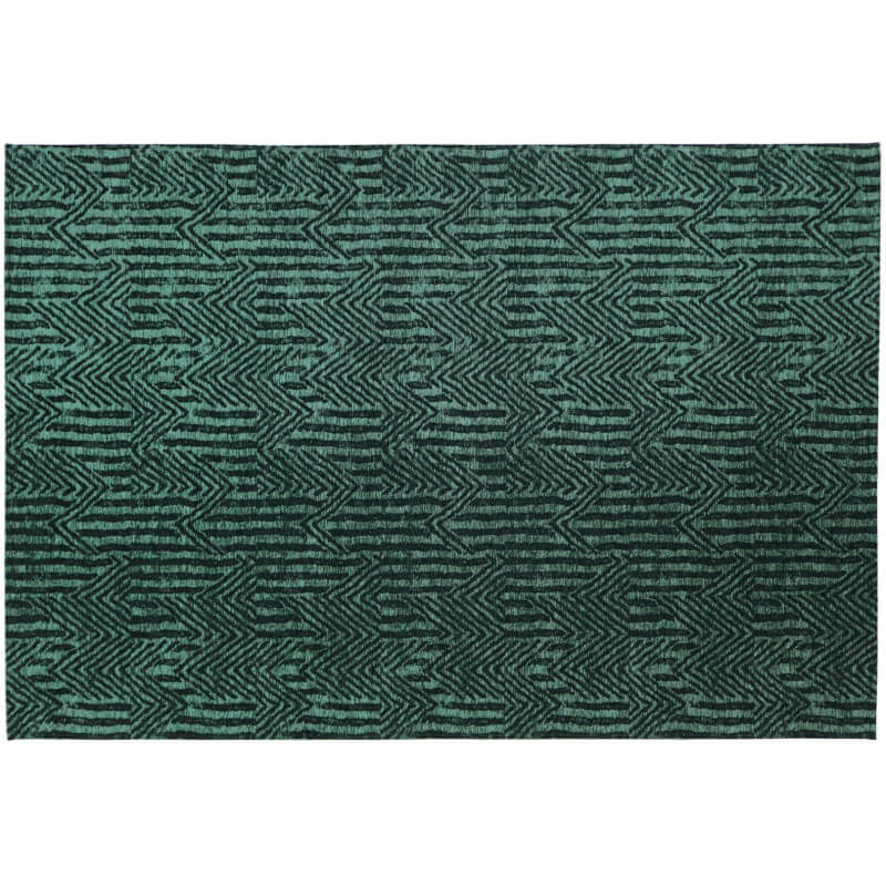tapis vert meraude rectangulaire plat etica. Black Bedroom Furniture Sets. Home Design Ideas