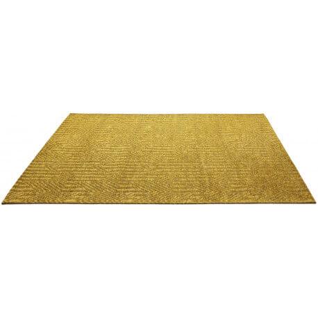 tapis jaune moutarde rectangulaire plat etica. Black Bedroom Furniture Sets. Home Design Ideas