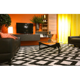 tapis noir un tapis noir la classe et l 39 l gance. Black Bedroom Furniture Sets. Home Design Ideas