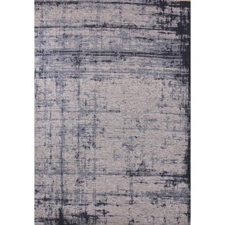 tapis tendance de salon bleu plat lounge - Tapis De Salon Bleu