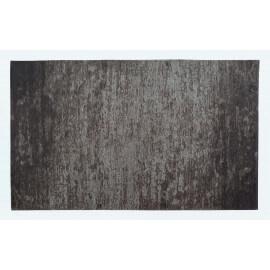Tapis moderne d'intérieur plat gris Transit