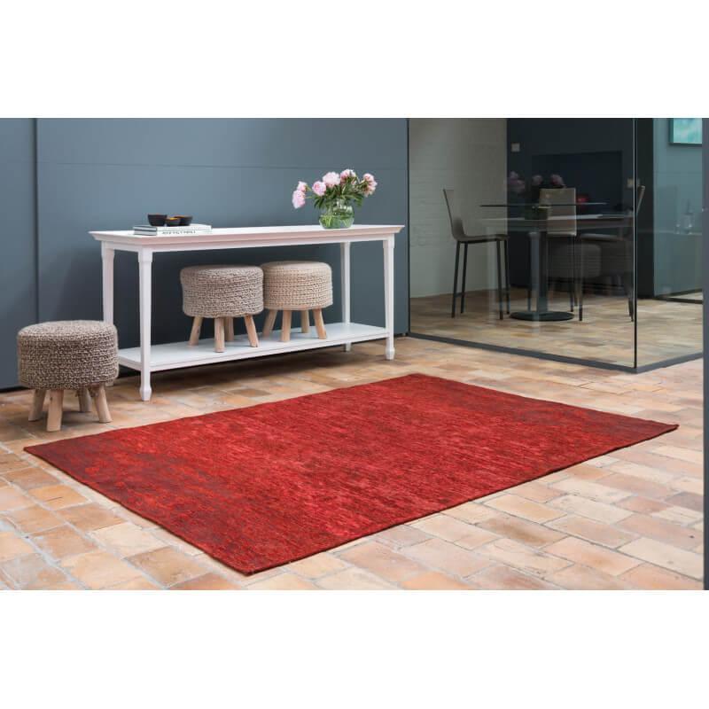 tapis moderne d 39 int rieur plat rouge transit. Black Bedroom Furniture Sets. Home Design Ideas