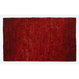 Tapis moderne d'intérieur plat rouge Transit