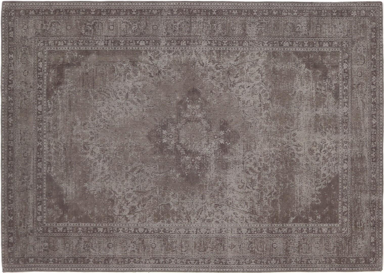Tapis style oriental en coton pastel Sarouk