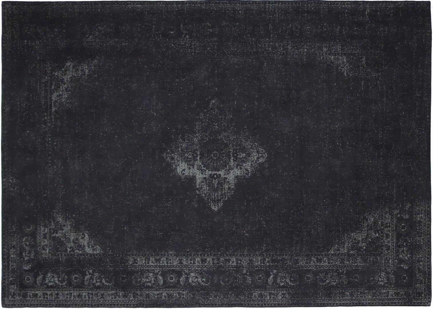 Tapis style oriental en coton Sarouk Shades