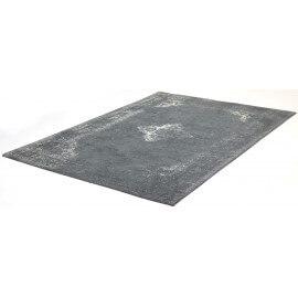 Tapis style oriental en coton gris Sarouk Shades