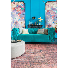 Tapis baroque vintage rouille Moods