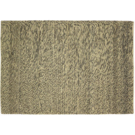 Tapis noué main en coton et laine naturel Kingstown