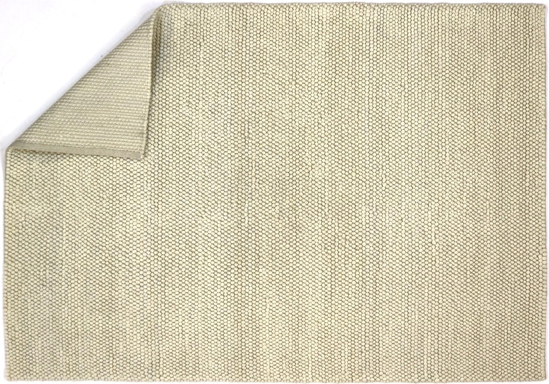 tapis naturel pais en laine et coton blanc newton. Black Bedroom Furniture Sets. Home Design Ideas