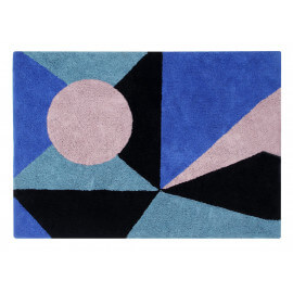 Tapis rectangle style scandinave multicolore Geometric Lorena Canals