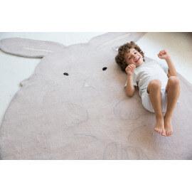 Tapis enfant en laine et coton Bunny Lorena Canals
