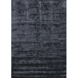 Tapis en bambou design pour salon tufté main noir Bamboo Angelo