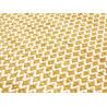 Tapis en laine de Nouvelle-Zélande design jaune Mic-Mac Angelo