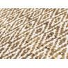Tapis en laine de Nouvelle-Zélande design ocre Mic-Mac Angelo