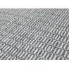 Tapis en laine de Nouvelle-Zélande design gris Mic-Mac Angelo