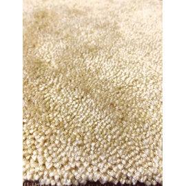 Tapis de salon moderne en polyamide tufté beige Pax Angelo