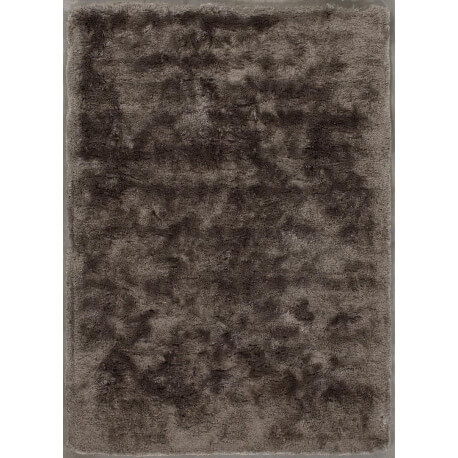 tapis moderne longues m ches en polyester marron glac bergamo angelo. Black Bedroom Furniture Sets. Home Design Ideas