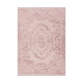 Tapis en acrylique vintage rose doux Sling