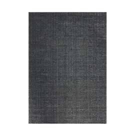Tapis plat en polyester effet vintage gris Cocoon