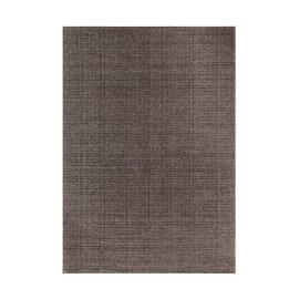 Tapis plat en polyester effet vintage taupe Cocoon