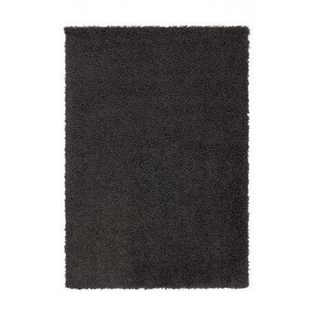 Tapis shaggy uni graphite River