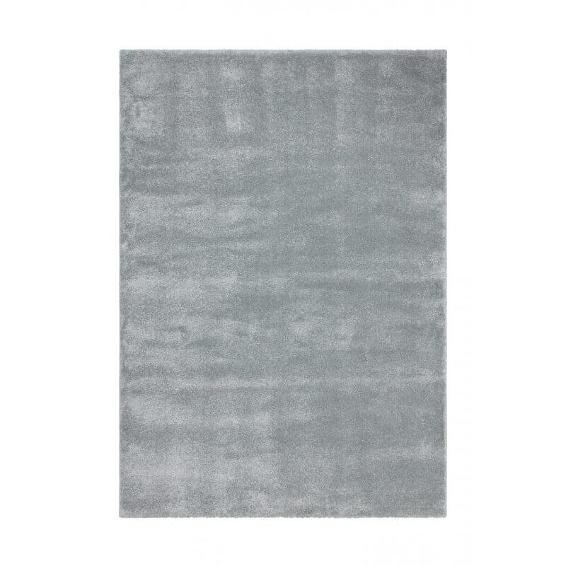 tapis en polypropyl ne doux bleu pastel uni oslo. Black Bedroom Furniture Sets. Home Design Ideas