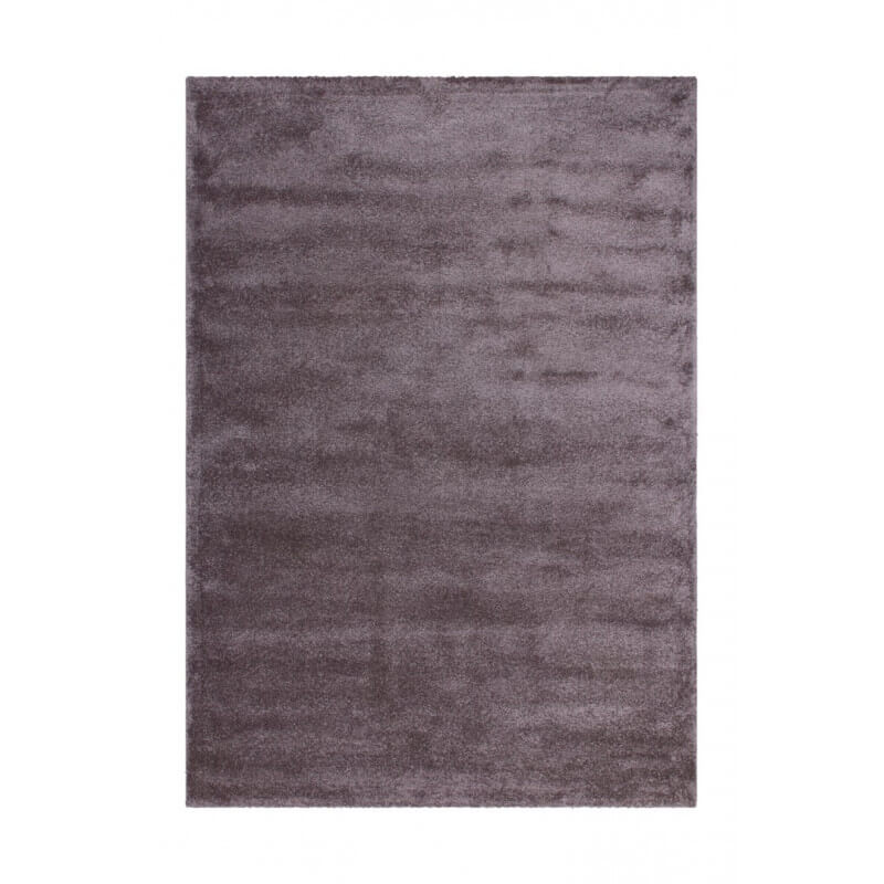 tapis en polypropyl ne doux pourpre pastel uni oslo. Black Bedroom Furniture Sets. Home Design Ideas